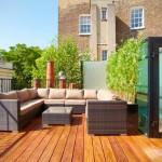 Modelos para decoración en terrazas