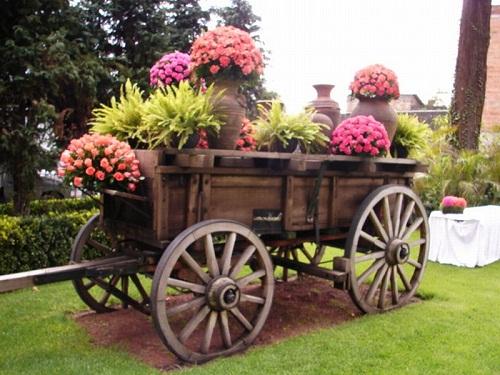 Foto de decoracion floral bodas