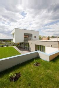 Terraza casa de diseño