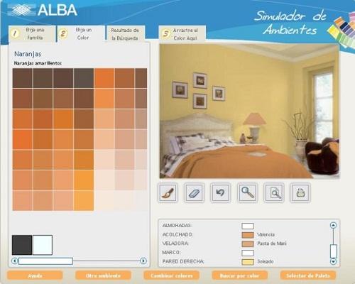 Simulador decoracion interiores