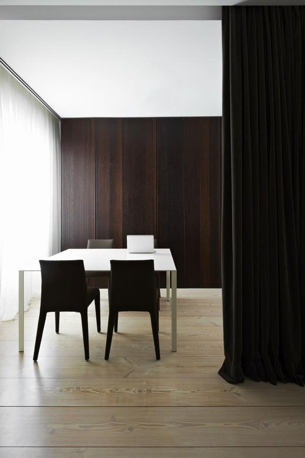 Diseño de interiores con cortinas al estilo minimalista (12)