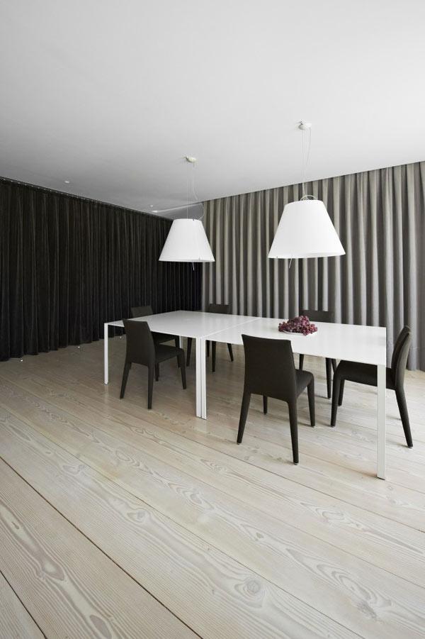 Diseño de interiores con cortinas al estilo minimalista (10)