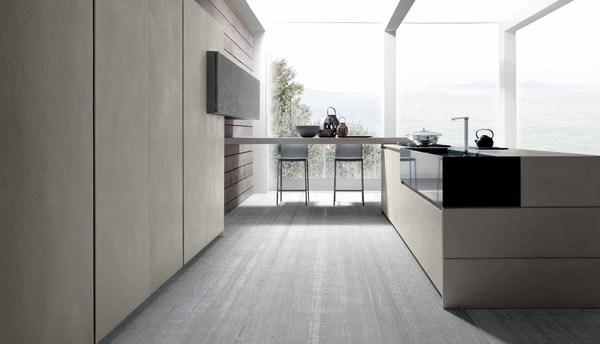 Cocinas modernas de cemento – Cocina moderna fabricada con cemento ...