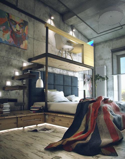 Decoración habitación juvenil (9)