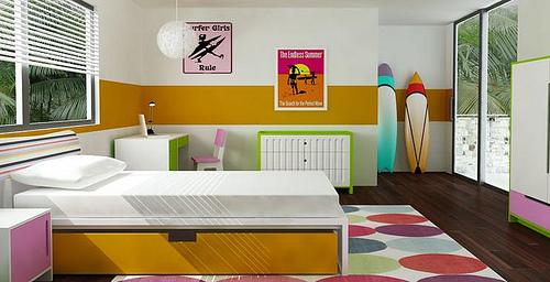 Decoración habitaciones juveniles (6)