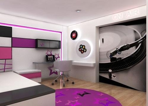 Decoración habitaciones juveniles (4)