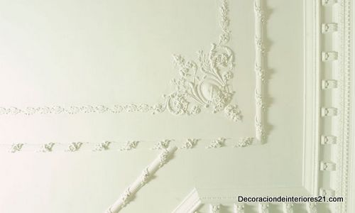 Decoración con escayola