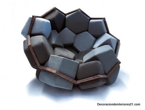 Decoración mueblería - El sillón de cuarzo modular