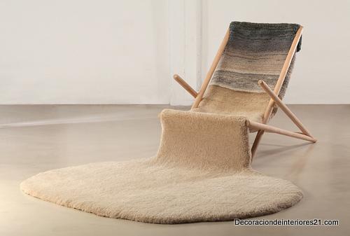Decoración mueblería - La silla invernal