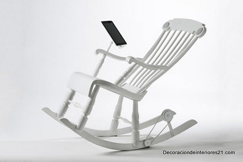 Decoración mueblería - ipadrockingchair