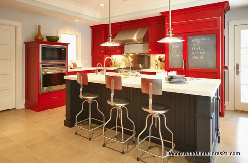 Aprende a elegir el color de tu cocina (2)