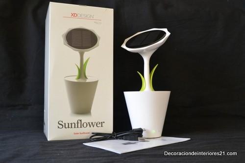 Decoración de jardines con flores fotovoltaicas (9)