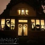 Decoracion de casa de brujas