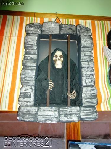 Decoracion del dia de las brujas con la muerte