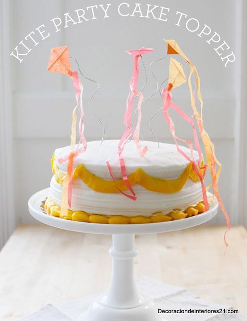 Pastel decorado para princesas
