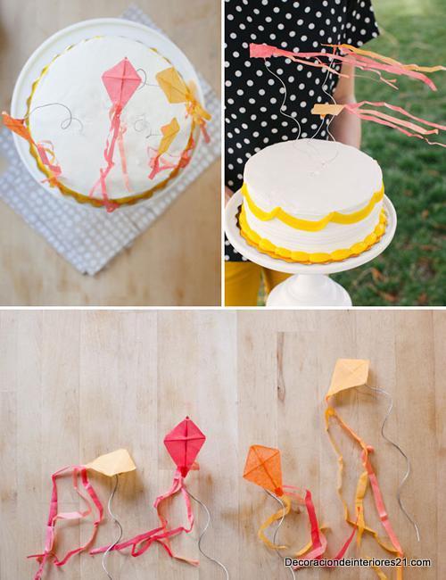decoracion de pastel para fiestas infantiles