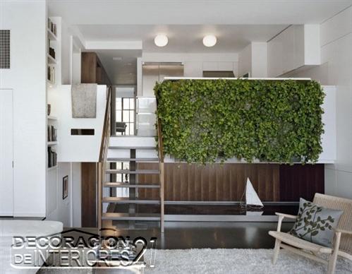 Mezzanine moderno en ambiente de hojas verdes  (16)