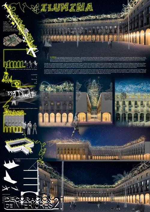 Propuesta triunfante para la iluminación Plaza Reial de Barce (2)