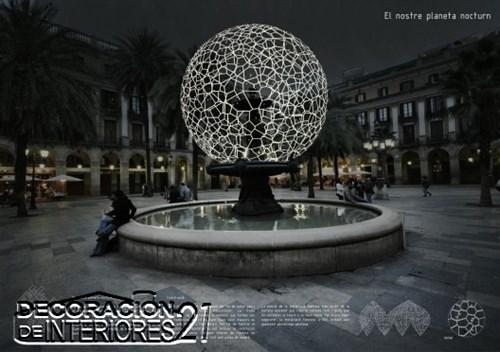 Propuesta triunfante para la iluminación Plaza Reial de Barce (21)