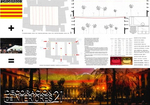 Propuesta triunfante para la iluminación Plaza Reial de Barce (22)