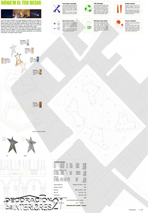Propuesta triunfante para la iluminación Plaza Reial de Barcelona (1)