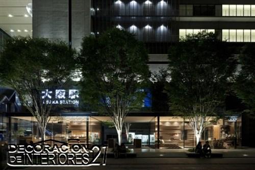 Shun Shoku Lounge mística iluminación de interiores por Kengo Kuma & Associates  (2)
