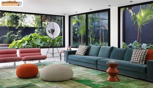 DM House una casa fresca llena de color juvenil (4)