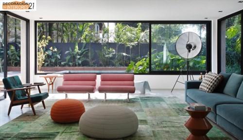 DM House una casa fresca llena de color juvenil (5)