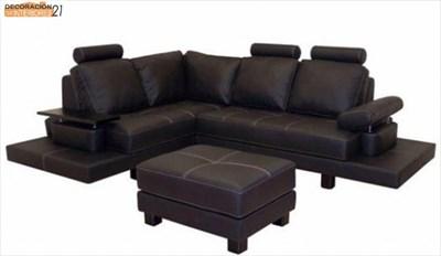 Decoración con asientos de cuero (1)