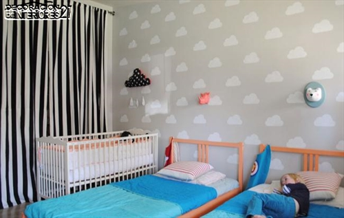 Ideas para decorar paredes con estilo infantil (1)