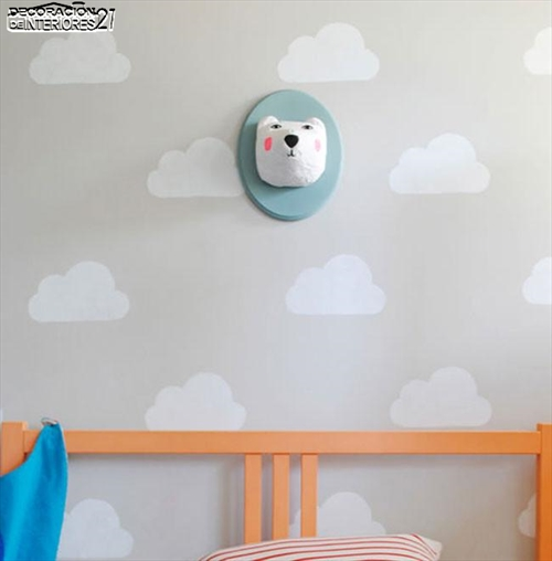 Ideas para decorar paredes con estilo infantil (3)