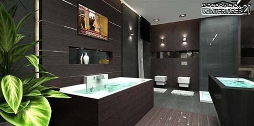 Decora tu baño con estas 28 ideas de decoración de baños al estilo moderno (10)