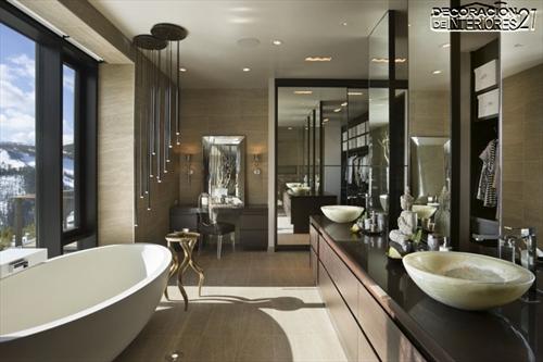 Decora tu baño con estas 28 ideas de decoración de baños al estilo moderno (14)