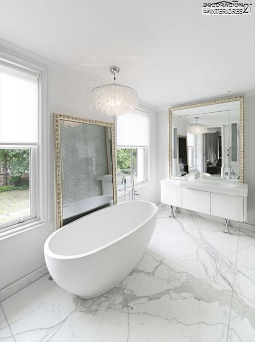 Decora tu baño con estas 28 ideas de decoración de baños al estilo moderno (18)