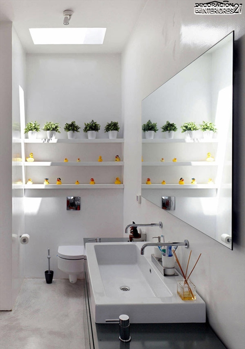 Decora tu baño con estas 28 ideas de decoración de baños al estilo moderno (2)