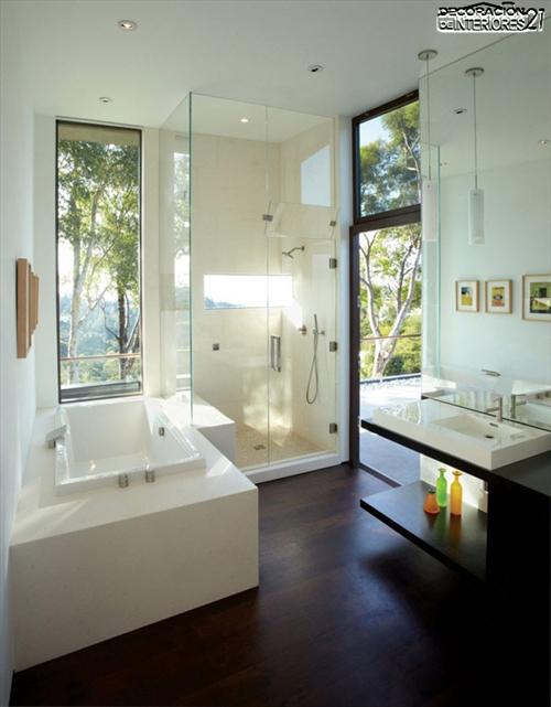 Decora tu baño con estas 28 ideas de decoración de baños al estilo moderno (24)
