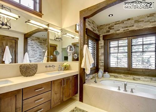 Decora tu baño con estas 28 ideas de decoración de baños al estilo moderno (26)