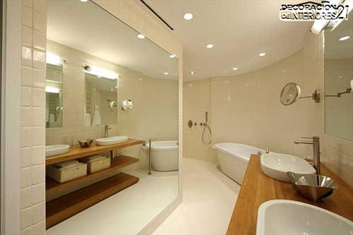 Decora tu baño con estas 28 ideas de decoración de baños al estilo moderno (3)