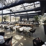 Ideas de decoración –  Invernadero convertido en fresco restaurante
