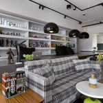 Decoración de apartamentos con estilo cibercafetería juvenil