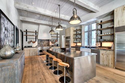 Diez diseños de cocina que encarnan la vida en el campo y sus ...