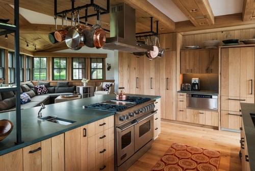 Doce diseños de cocina que encarnan la vida en el campo y sus tradiciones (12)