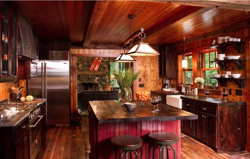 Doce diseños de cocina que encarnan la vida en el campo y sus tradiciones (4)