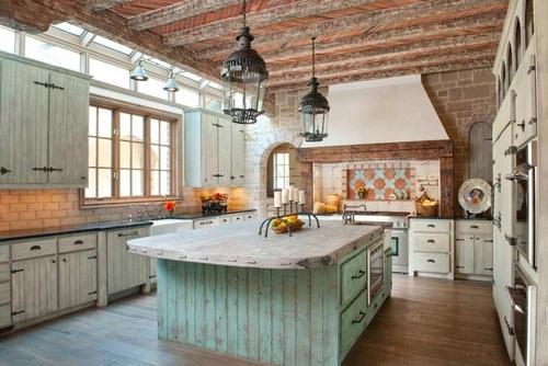 Doce diseños de cocina que encarnan la vida en el campo y sus tradiciones (6)