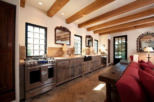 Doce diseños de cocina que encarnan la vida en el campo y sus tradiciones (7)
