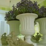 Decoración de interiores color verde