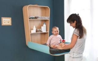 Muebles infantiles minimalistas y muy funcionales con diseño escandinavo