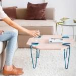 Reutilización de la basura para hacer mesas increíbles y útiles para el hogar