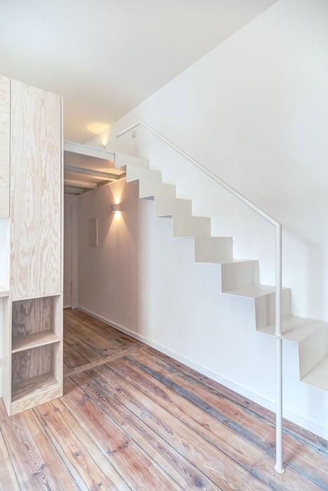 El uso de la escalera