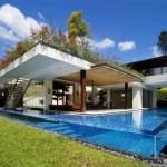 Perfecta y moderna residencia al aire libre para los amantes del paraíso natural